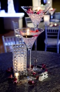 Martini Glass Decor small